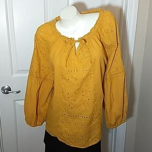 Old Navy Gold Blouse